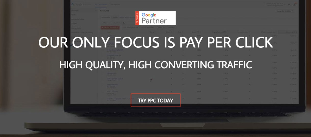 Titan PPC only focus on Pay Per Click
